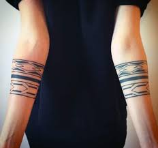 Simple And Amazing Tribal Armband Tattoo Ideas For Girls