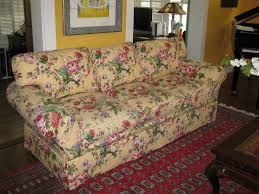 Custom Slipcovers For Sectional Sofas by Unique Couch Covers With Beautiful Flower Slipcovers Pattern