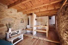 Affordable Natural Design Old House Interiors With Wooden Floor And White Shelves Can Add The Modern