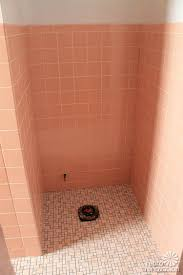 Regrouting Bathroom Tiles Video by Video Kate Grouts Her Pink Ceramic Wall Tiles Retro Renovation