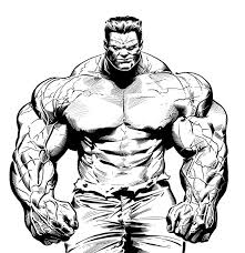 9 Pics Of Red Hulk Coloring Pages