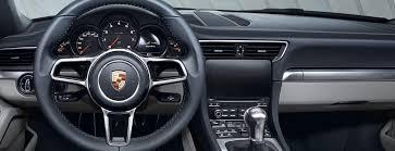 Porsche Interior design Porsche USA