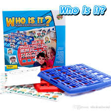 Who Is It Party Family Board Game Classical Guess Face Fun Players Well Known Classic Kids For 2 Business Traditional