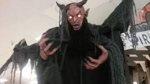 Spirit Halloween Animatronic Mask by Spirit Halloween 2017 Forest Demon Youtube