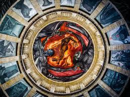 obras de josé clemente orozco en llamas llamas y compromisos