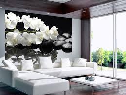 foto tapete spa wellness steine und orchidee