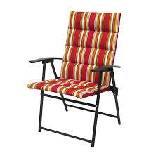 Jaclyn Smith Channeled Cushion Folding Chair* Limited ...