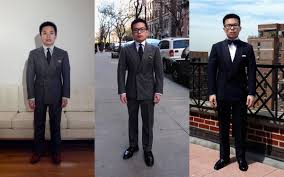 can short men wear double breasted suits