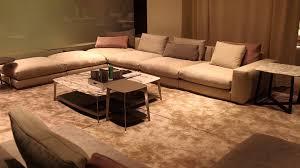 unique arrangement for an l shaped living room interior design