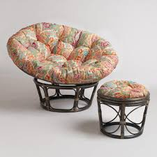 Pier One Round Chair Cushions by Furniture Pier One Papasan Cushion Double Papasan Chair Frame