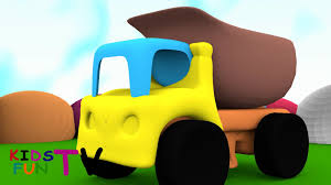 100 Dump Trucks Videos Truck 3D Kids YouTube
