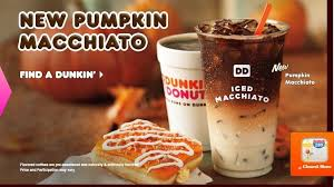 Dunkin Pumpkin Spice by Dunkin Releases Pumpkin Macchiato On National Coffee Day Fast