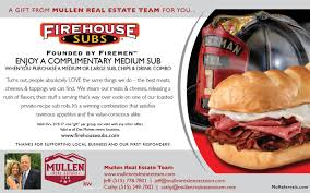 FREE Sandwich From Firehouse Subs - Mullen Real Estate Team Top 10 Punto Medio Noticias Bulldawg Food Code Smashburger Coupon 5 Off 12 Coupons Deals Recipes Subway Print Discount Firehouse Subs 7601 N Macarthur Irving Tx 2019 All You Need To Valpak Coupons Findlay Ohio Code American Girl Doll Free Jerry Subs Coupon Oil Change Gainesville Florida Myrtle Beach Sc By Savearound Issuu Free Birthday Meals Restaurant W On Your New 125 Photos 148 Reviews Sandwiches 7290 Free Sandwich From Mullen Real Estate Team Donate 24pack Of Bottled Water Get Medium Sub Jersey Mikes Printable For Regular Page 3
