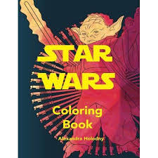 Star Wars Coloring Book Art Therapy Stress Relief