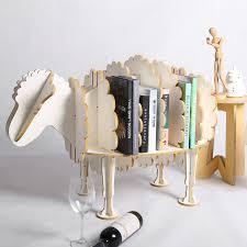 aliexpress com buy 94cm l creative sheep bookshelf cute wood