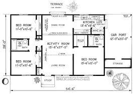 Blueprints House House 20531 Blueprint Details Floor Plans