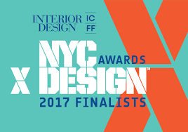 2017 NYCxDesign Awards Finalists