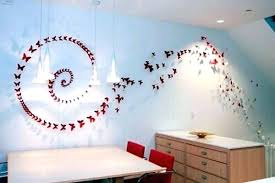 Paper Wall Decoration Posted By Art For Step Decorations