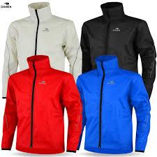 mens cycling jacket high visibility waterproof running top rain