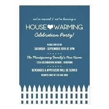 Housewarming Evite Blue House Invitation