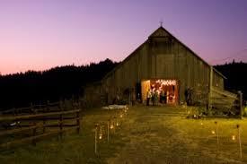 Barn Wedding Photo At Night