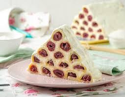 pyramiden kirsch kuchen