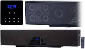 auvisio heimkinosystem 6 kanal 3d soundbar 5 1 surround sound bluetooth 4 0 hdmi 250 watt soundanlage