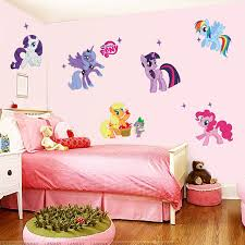 Hot Sale 3D Wall Sticker For Kids Girls Room Wallpaper Baby DIY Cute Cartoon Self Adhesive
