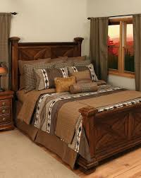 Apache Bedding Set Add The Finishing Touch To Your Rustic Bedroom With This Lodge