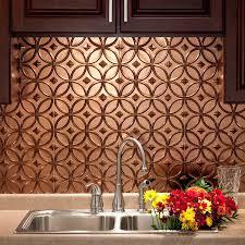 fasade backsplash rings in rubbed bronze