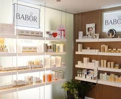 Salon Display Shelves Decoration Image Ideas