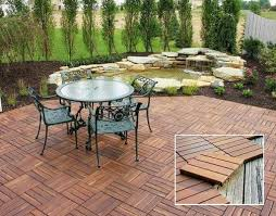 Kontiki Deck Tiles Canada by 15 Ipe Deck Tiles Canada Bol Corten Firebowl Ultra Modern