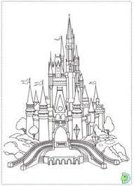 FREE Printable Disneyland Disney World Coloring Pages Shown Here Fantasyland