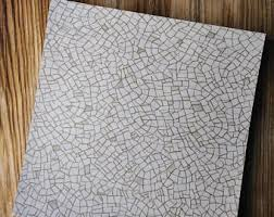Vintage 1970s Linoleum 70s Floor Tiles Gray Glitter Mid Century Flooring