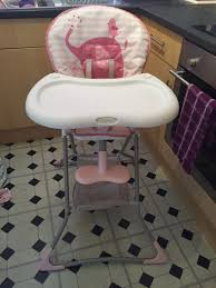 Graco Pink And Purple High Chair | Sante Blog