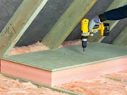 Floor Joist Size Residential by Insulating Attics And Roofs How Tos Diy