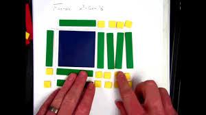 algebra tiles factoring factoring polynomials with algebra tiles 1