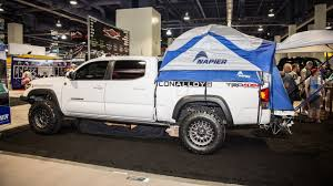 The Best Stuff We Found At The SEMA Show: Napier Truck Bed Tent ...