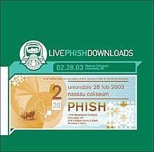 Phish Bathtub Gin Live by Live Phish 02 28 03 Wikipedia