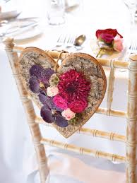 Chair decorations are ever more popular for wedding ceremonies or