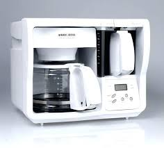 Under The Counter Coffee Maker Cabinet Black And