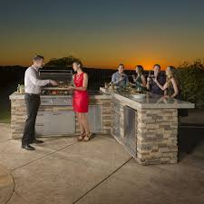 Lynx Natural Gas Patio Heater by Sedona By Lynx Ready To Finish Bbq Island With 30 Inch Sedona