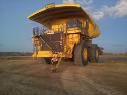 100 Haul Truck Sitting On The Front Of A Haul Truck HumansForScale
