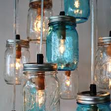 shop jar chandelier lighting on wanelo