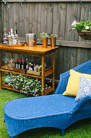Make Your Own Outdoor Wooden Table by Diy Indoor Outdoor Bart Cart Table
