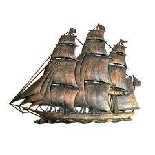 Pirate Ship Wall Decor Rustic Ship Wall Hanging Guild