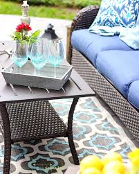 backyard patio makeover in one afternoon outdoor decorating ideas