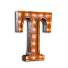 Diy Circus Light Letters Diy Tutorials Inspiration Lights4fun