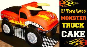 100 El Toro Monster Truck Jam Fresh Jam Toro Loco Cake
