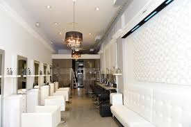 Hair Salon Decor Ideas by Built In Seating For Waiting Area Salon Pinterest White